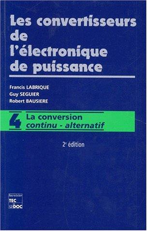 9782743000356: La conversion continu-alternatif