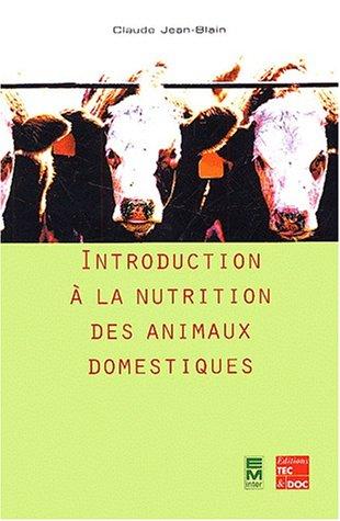 9782743005306: Introduction à la nutrition des animaux domestiques