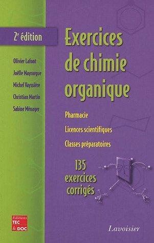 9782743007096: Exercices de chimie organique