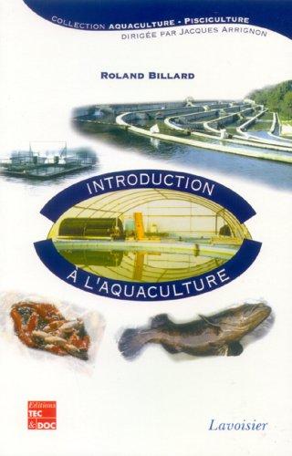 9782743007867: Introduction à l'aquaculture
