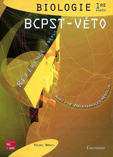 9782743009021: Biologie 1e année BCPST-Véto