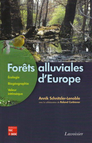9782743009359: Fôrets alluviales d'Europe