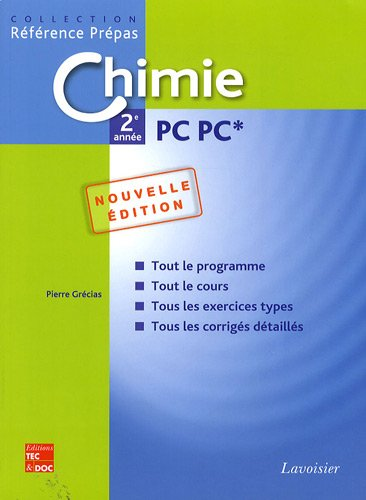 9782743011321: Chimie 2e année PC PC* (French Edition)