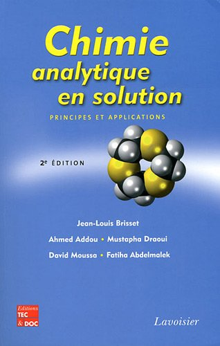 9782743013776: Chimie analytique en solution (French Edition)