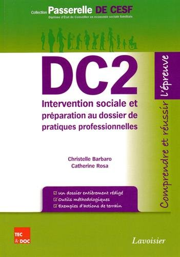 9782743014094: DC2 Intervention sociale et pr�paration au dossier de pratiques professionnelles