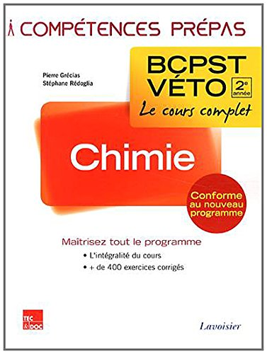 9782743015855: Chimie BCPST-V�to 2e ann�e