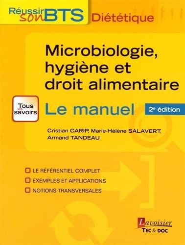 9782743020118: Microbiologie, hygiène et droit alimentaire