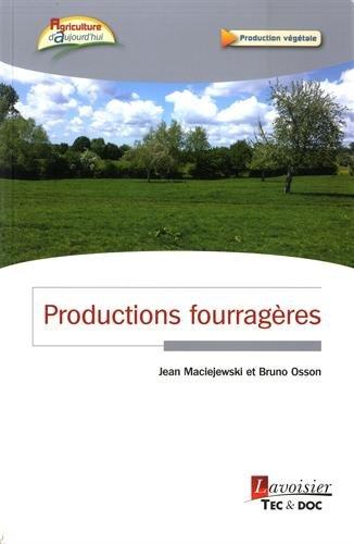 PRODUCTIONS FOURRAGERES: MACIEJEWSKI JEAN