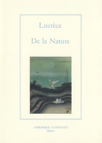 De La Nature: Lucrece