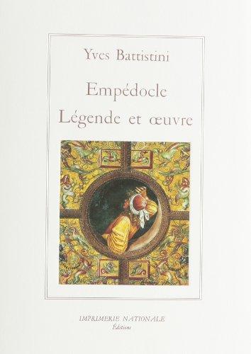 Légende et Oeuvre: Yves Battistini