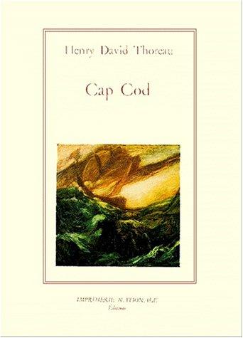 Cap Cod: Thoreau, H. D.