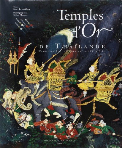 9782743303792: Temples d'or de Thaïlande (French Edition)