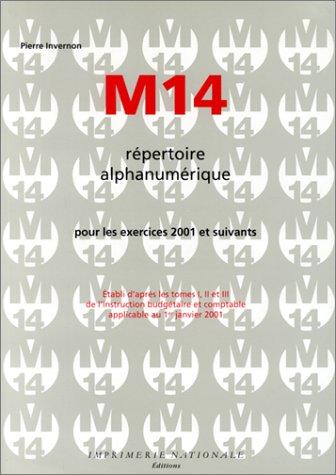 9782743304119: M14 : R�pertoire alphanum�rique pour les exercices 2001 et suivants