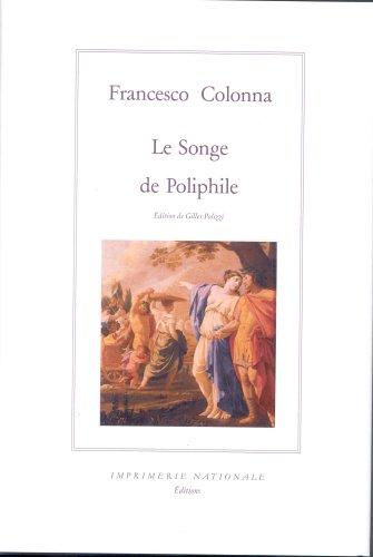 9782743305291: Le Songe de Poliphile (Relie)