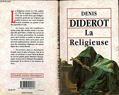 La religieuse: Denis Diderot