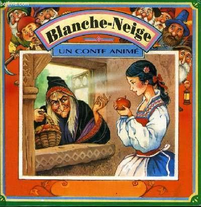 9782743401740: Blanche-Neige (Un conte animé)
