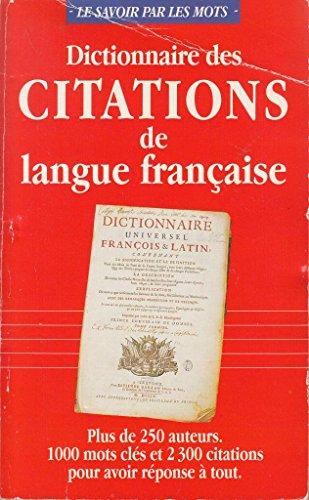 9782743402877: Dictionnaire des citations