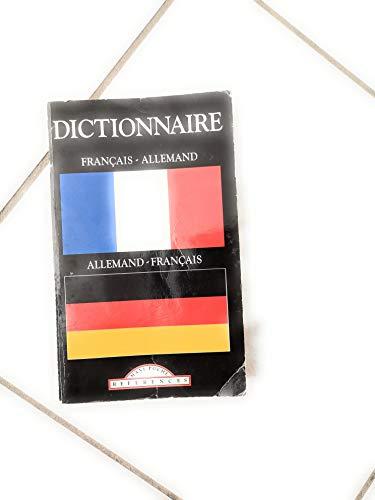Dictionnaire français/allemand: collectif