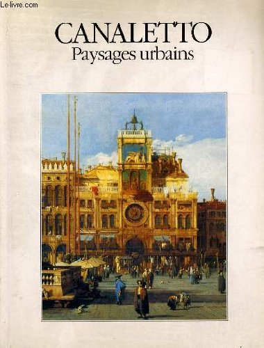 9782743408121: Canaletto - paysages urbains