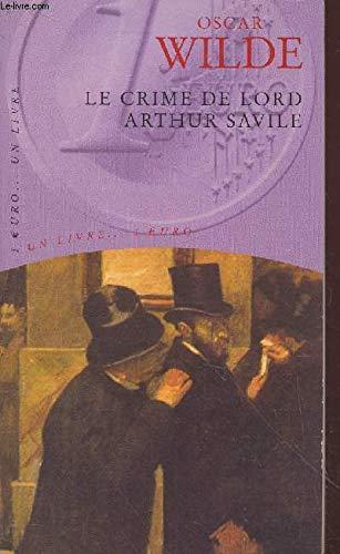 9782743420185: Le crime de Lord Arthur Savile