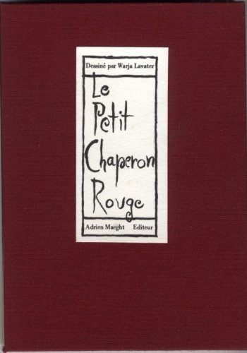 Le Petit Chaperon Rouge: Adrien Maeght, Editor