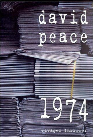 1974 - Prix du roman noir étranger, Cognac 2002: Peace, David; Lemoine, Daniel