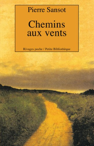 9782743609863: Chemins aux vents