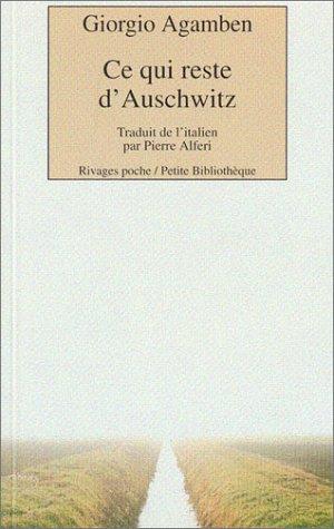 9782743610005: Ce qui reste d'Auschwitz