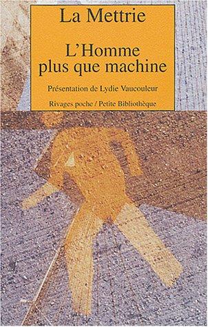 9782743611750: L'Homme plus que machine (Rivages poche)