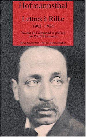 9782743612368: Lettres à Rilke, 1902-1925