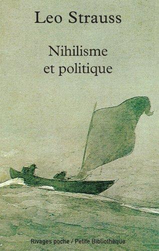9782743612375: Nihilisme et politique