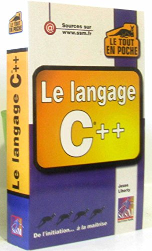 9782744004452: Le langage C++
