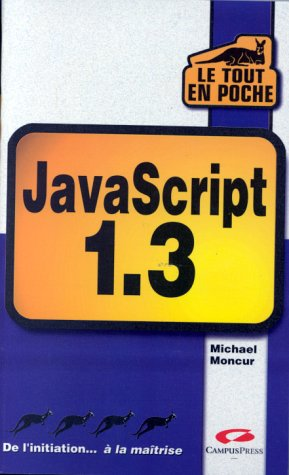 9782744007347: JavaScript 1.3