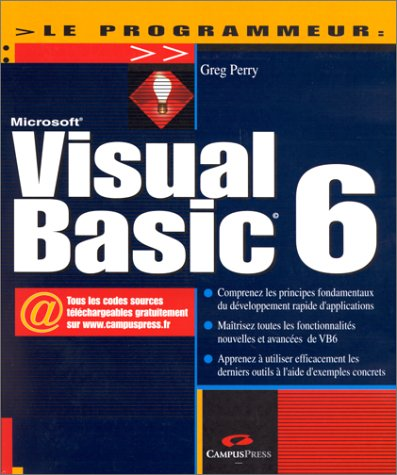 9782744008931: Visual Basic 6