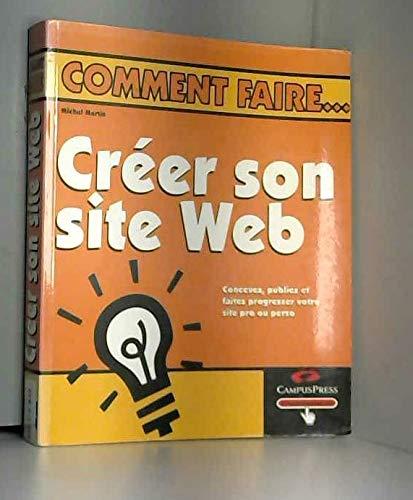 9782744009853: Cr�er son site Web