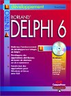 9782744013188: Delphi 6 (avec CD-Rom)