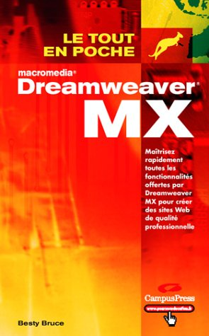 9782744014628: Dreamweaver MX