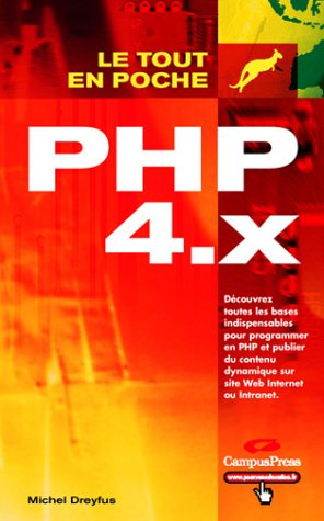 9782744015069: PHP 4.x