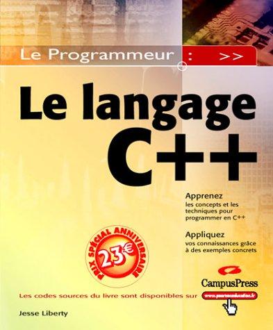 9782744016110: C++ Le Programmeur