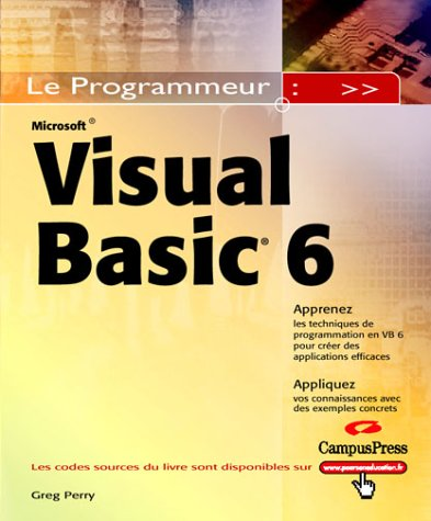 9782744016172: Visual Basic 6