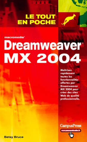 9782744017278: Dreamweaver MX 2004