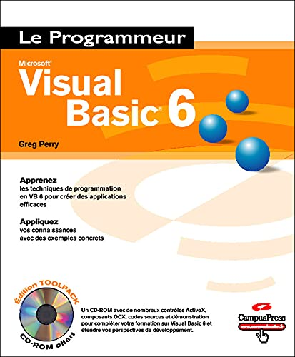 9782744017957: Visual Basic 6 (+ 1 CD-Rom)