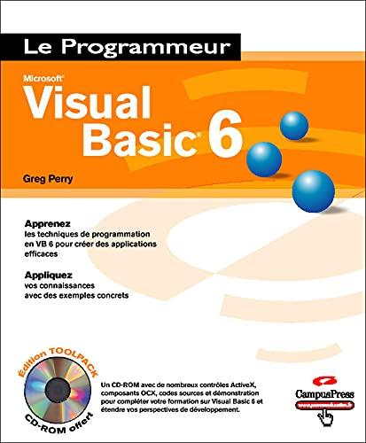 9782744017957: Visual Basic 6 (+ 1 CD-Rom)