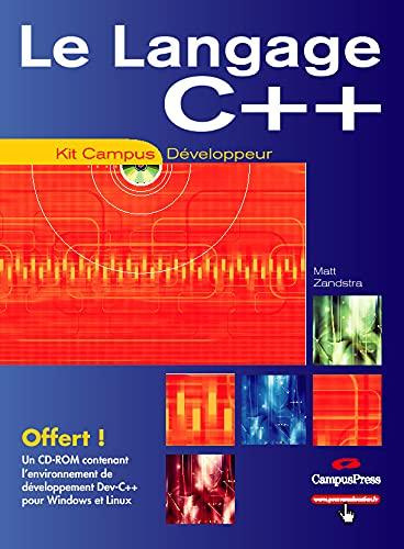 9782744018329: Le langage C++