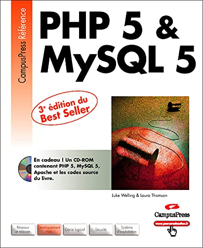 9782744018879: PHP 5 et MySQL 5