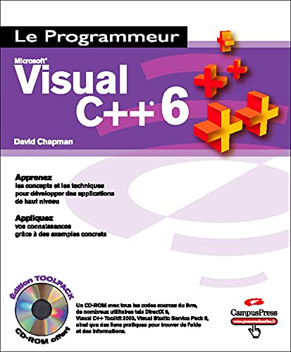 9782744019234: Visual C++ 6 (1Cédérom)