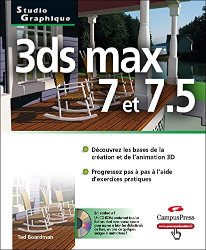 9782744019784: 3ds max 7 & 7. 5 (Studio Graphique)