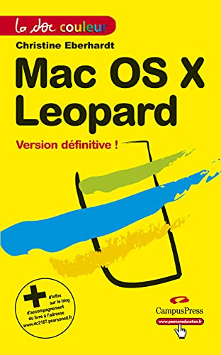 Mac OS Leopard (French Edition) (2744021873) by [???]