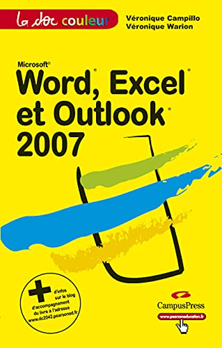 9782744021923: Word,Excel et Outlook 2007