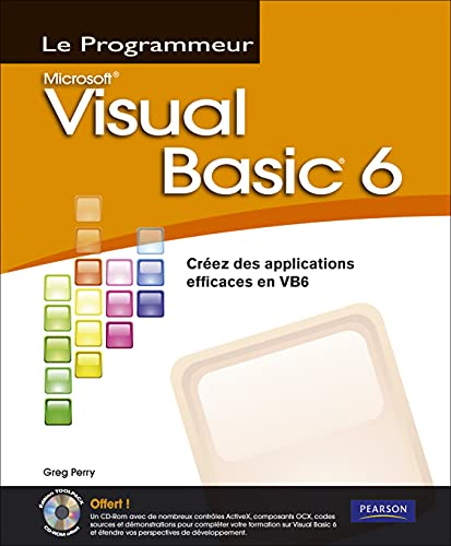 9782744022654: Visual Basic 6: Créez des applications efficaces en VB6